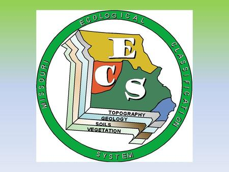 USFS Hierarchy Finer Scale Units for Missouri ELTs=ESDs=HGM.