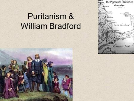 William bradford response