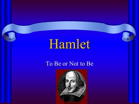 antithesis hamlet to be or not to be