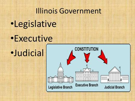 Illinois Government Legislative Executive Judicial.