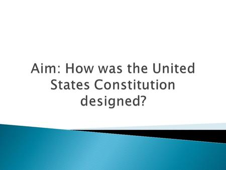 SectionSubject PreambleStates the purpose of the Constitution Article ILegislative Branch Article IIExecutive Branch Article IIIJudicial Branch Article.