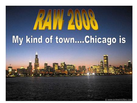 RAW 2008 – General prices for flights to Chicago, O'Hare (ORD) Los Angeles (LAX)$265United Airlines Dallas, Ft. Worth (DFW)$186United Airlines Orlando,