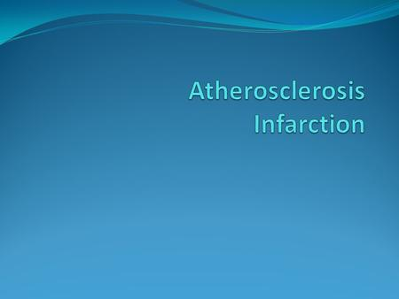Atherosclerosis Atherosclerosis is a specific form of arteriosclerosis (thickening & hardening of arterial walls) affecting primarily the intima of large.