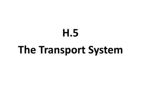 H.5 The Transport System. IB Assessment Statement H.5.1 Explain the events of the cardiac cycle, including atrial and ventricular systole and diastole,