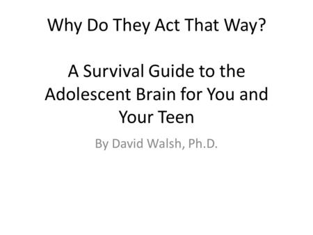 why teenagers act violently Many different things cause violent behaviour in children the more these things  are present in a child's life, the more likely he or she is to commit an act of.