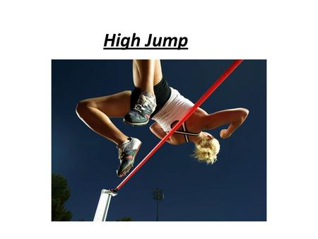 High Jump. 1 3 2 4 5 1Chief Judge, brief athletes, call up, Card 2, Height progression Fan control, check result, sign card, athletes to mixed zone 2Card.
