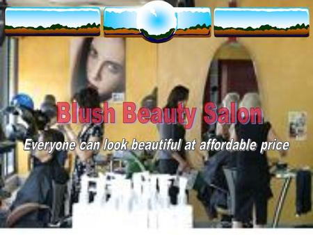 Introduction  Hair Style and Makeup at affordable price  Located in convenient malls  Most recent hair and makeup trends  Most competent hair stylist.