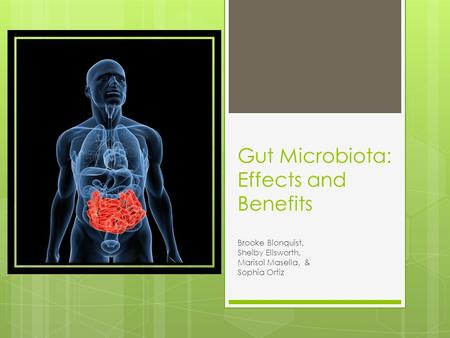 Gut Microbiota: Effects and Benefits