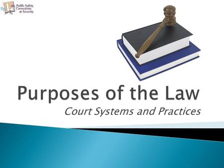 Court Systems and Practices. Copyright © Texas Education Agency 2011. All rights reserved. Images and other multimedia content used with permission. 2.