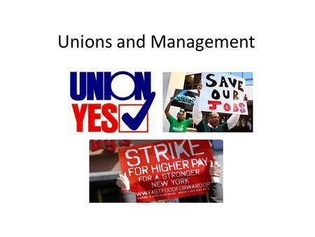 Unions and Management. Negotiations between Labor and Management Wages and Fringe Benefits Wages are set by labor contracts and vary based-type of position,