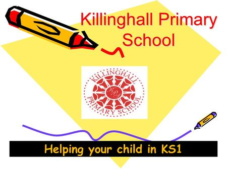 Killinghall Primary School Helping your child in KS1.