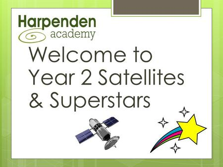 Welcome to Year 2 Satellites & Superstars. Our Team  Laura, Satellite teacher, Monday to Friday  Lee, Satellite AT, Monday to Friday  Kath, Superstars.