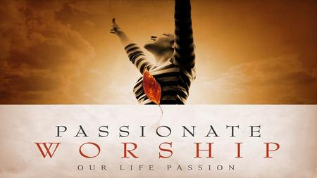 "Today, Christ is remembered around the world for His resurrection after His ""passion"". Acts 1:3 (KJV) His passion that should move us to ""passionately"""