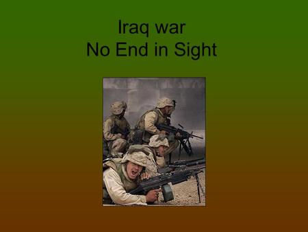 reasons for iraq war Bush's 3 bogus reasons for war on iraq by michael t klare dissident voice january 31, 2003 t he stated reasons for war on iraq can be boiled down to three phony assertions, writes pns.
