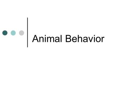 Animal Behavior. Behavior Behavior is what an animal does and how it does it Behavior is a result of GENETIC and ENVIRONMENTAL factors (nature vs nurture)