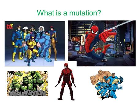 What is a mutation?. Genetic Disorders Make a list of all the genetic disorders you have heard of – do you know what causes them?