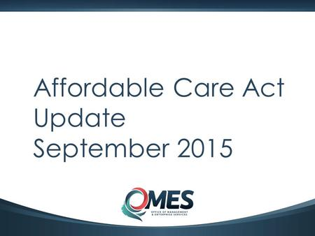 1 Affordable Care Act Update September 2015. 2 Agenda  Counting hours refresher  IRS reporting  Penalties  1411 certifications  Questions.