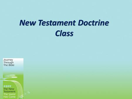 New Testament Doctrine Class. Church (ekklesia) Generic definition – a group of people called out together New Testament definition – the group of people.