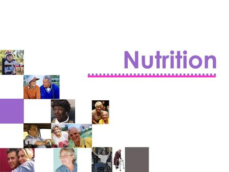 Nutrition. Triggers for Nutritional Services Referral  Growth and Weight Management  Health Conditions  Needs for Specialized Supports  Economic Problems.