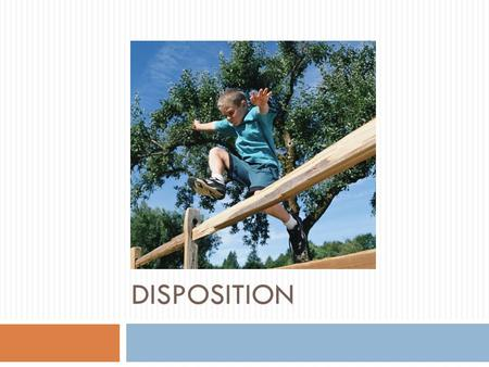 DISPOSITION. Dispositional Hearing  What is it?  A dispositional hearing is required whenever a petition for dependency or neglect has been sustained.