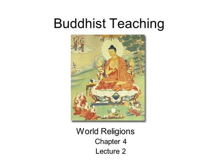 chapter 4 buddhism essay