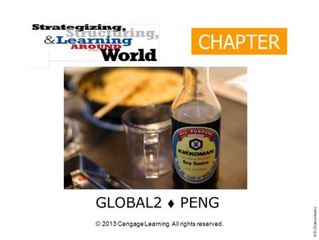 © 2013 Cengage Learning. All rights reserved. CHAPTER 12 GLOBAL2  PENG © DJ Dates/Alamy.