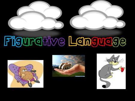 Figurative language Figurative language is language that uses words or expressions that are different than the literal meanings. Figurative language Figurative.