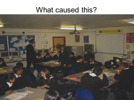What caused this?. PLANNING FOR LEARNING (SEN-LESSON PLANNING) Objectives; To know the essential components of a lesson plan. To understand the importance.