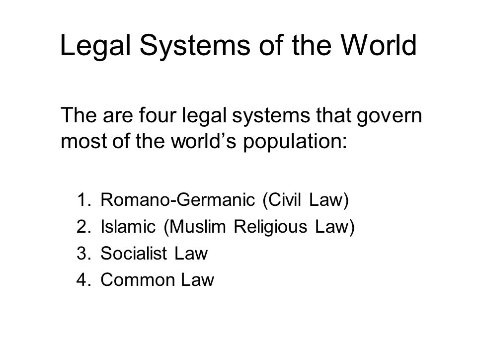 The Common Law Although settled by Germanic tribes and later conquered by the Romans, England has a legal system different from the Romano-Germanic system common to most of Europe.