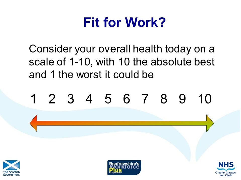 The Evidence Is work good for your health and well- being.