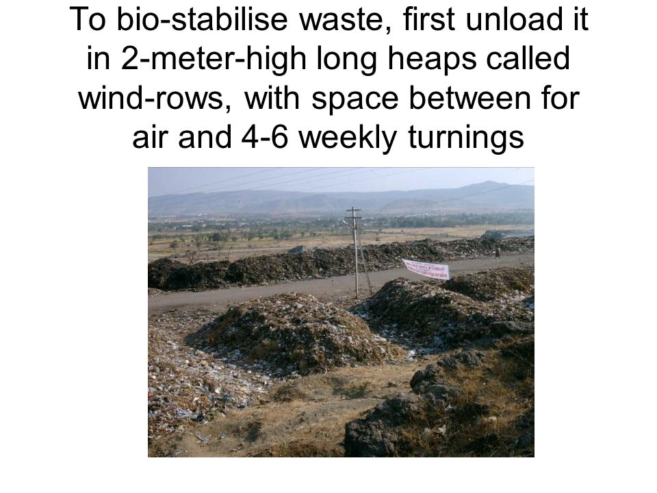 Spray heaps with bioculture before and after forming a new heap