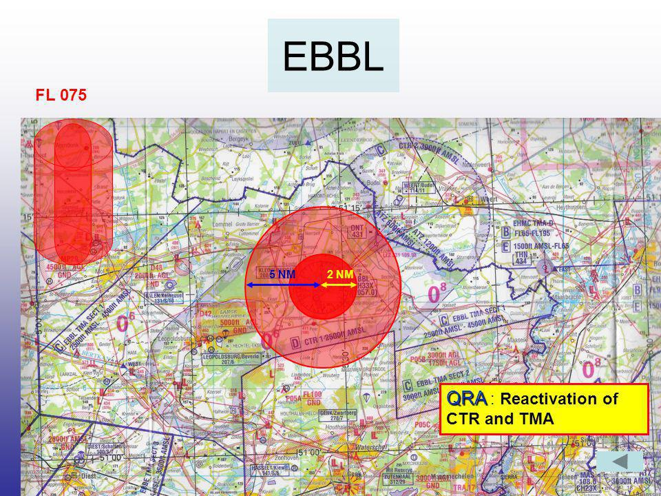 EBFS FL 095QRA : Reactivation of CTR and TMA 2 NM5 NM