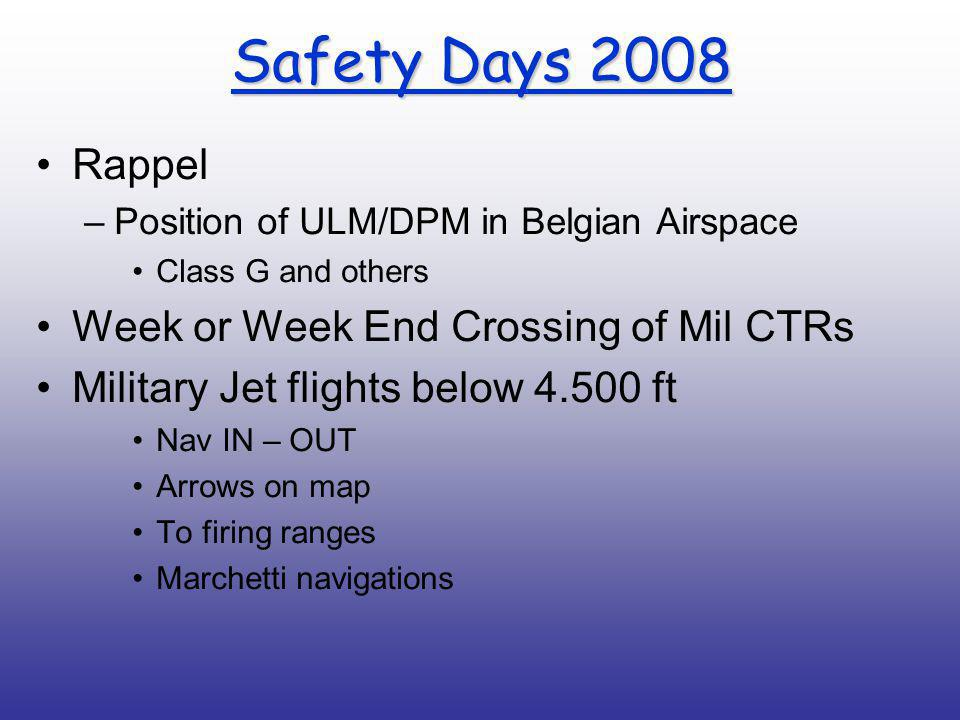 Airspace classification within Brussels FIR