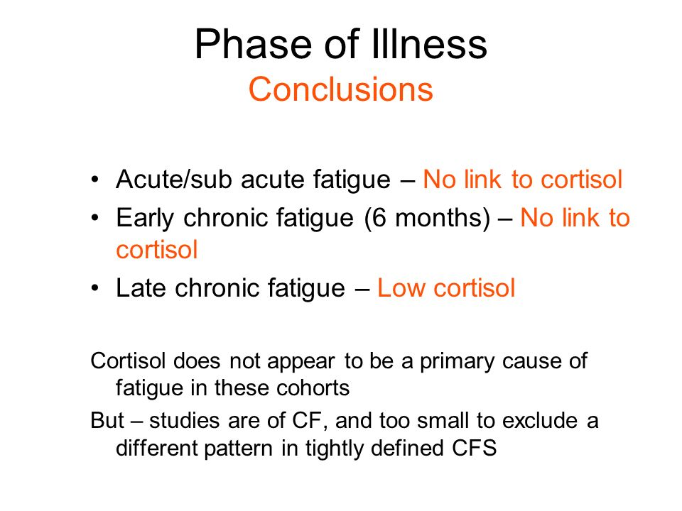 5.What causes changes in cortisol levels and regulation.