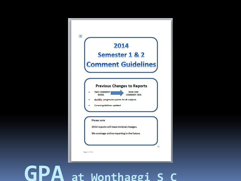 Course Documentation.Common assessment tasks..