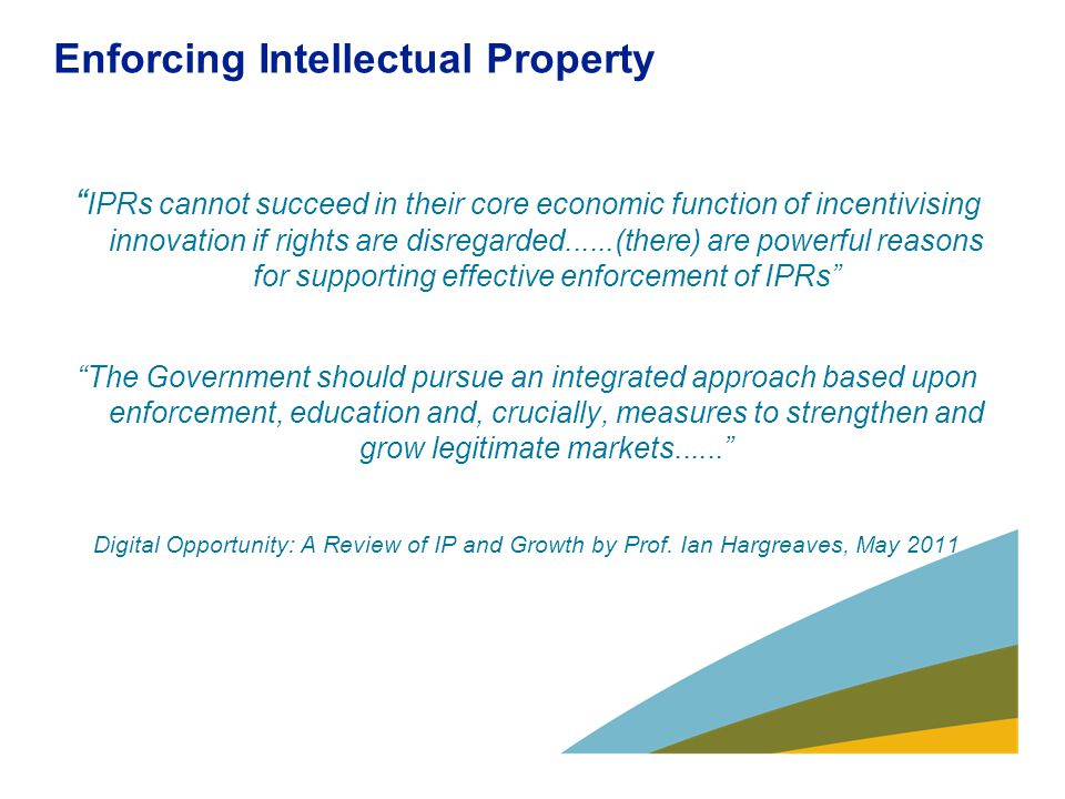 Why an IPO Enforcement role.