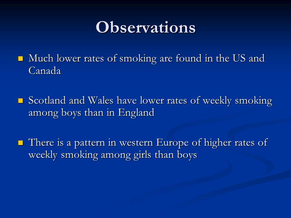 Smoking trends 1990-2006: Scotland *** * * * ** ******** *** ***