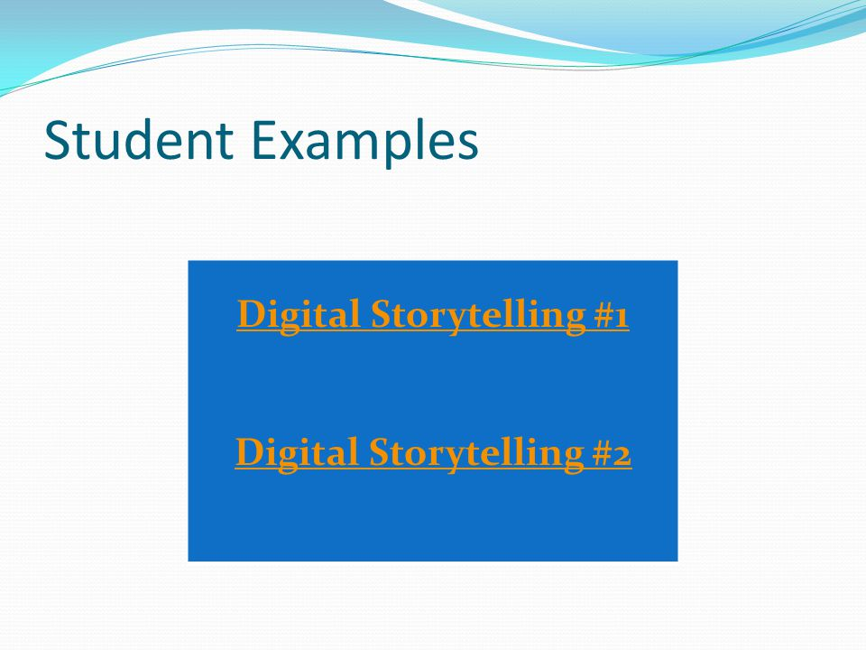 Student Reflections About These Projects Why Wixie?