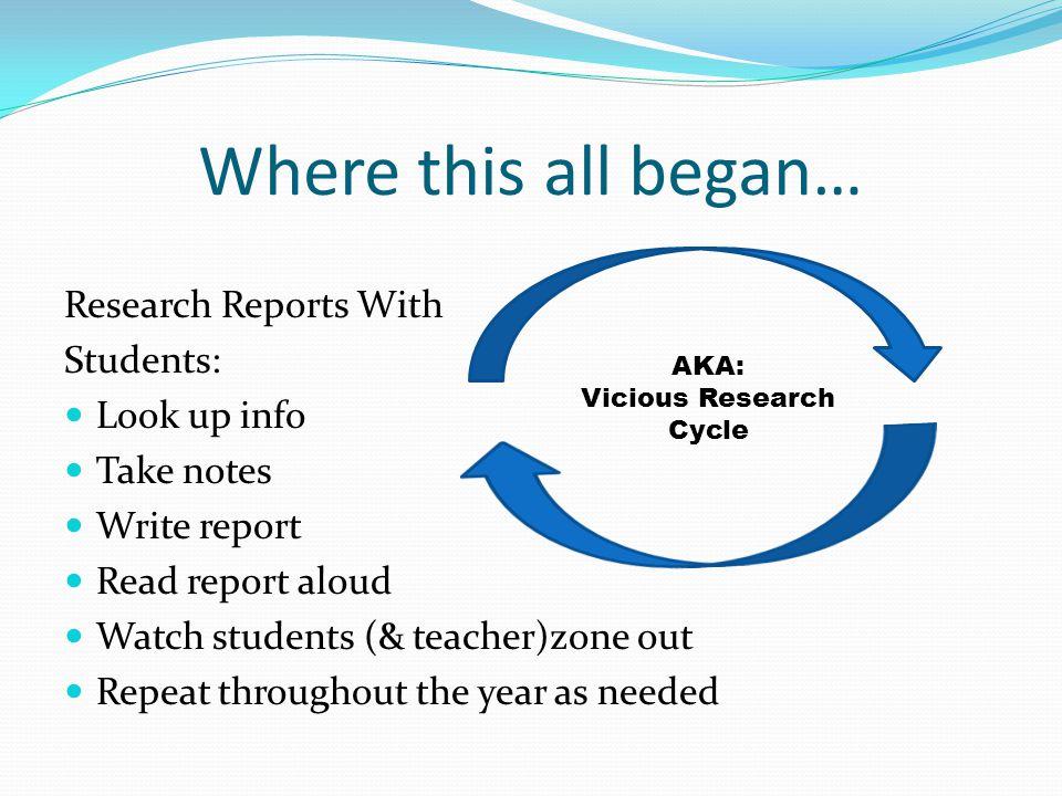 Can Research Be Fun?