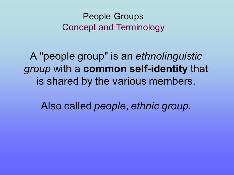 An Ethnolinguistic Reference Point Orville Boyd Jenkins March 2005 Copyright © 2005 Orville Boyd Jenkins end