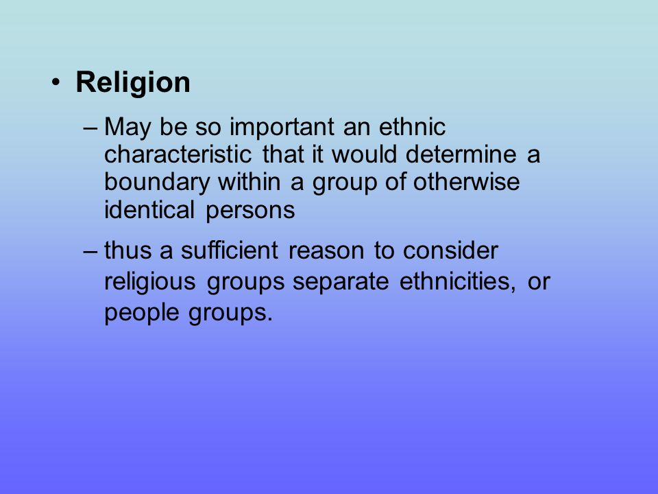 What is a People Group.