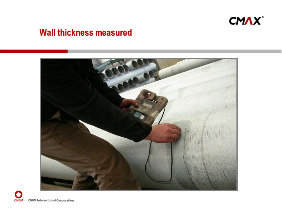 Acc to ISO4179 standards and requirements SizeThickness required DN80-3003mm DN350-6005mm DN700-8006mm Cement Coating