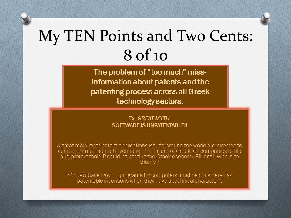My TEN Points and Two Cents: 9 of 10 TECHNOLOGY LICENSING IN TODAY's WORLD HAS BECOME MORE COMPLICATED THAN EVER BEFORE ___________ O Unfortunately licensing is one area where most lawyers learn from their mistakes.
