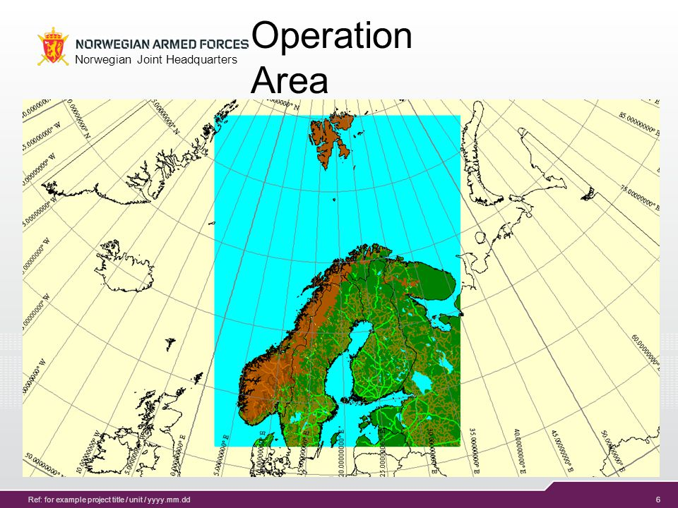 7 Norwegian Joint Headquarters Ref: for example project title / unit / yyyy.mm.dd EXCON during Gram exercises EXCON HICONSITCEN MEL/MIL EV MAN IEV MAN IIEV MAN IIIEV MAN IV SIMCON LOCON LANDAIR SOFMARITIME LOGCIS INFO OPS GREY CELL MEDIA SCENARIO SITFOR INTEL EVAL