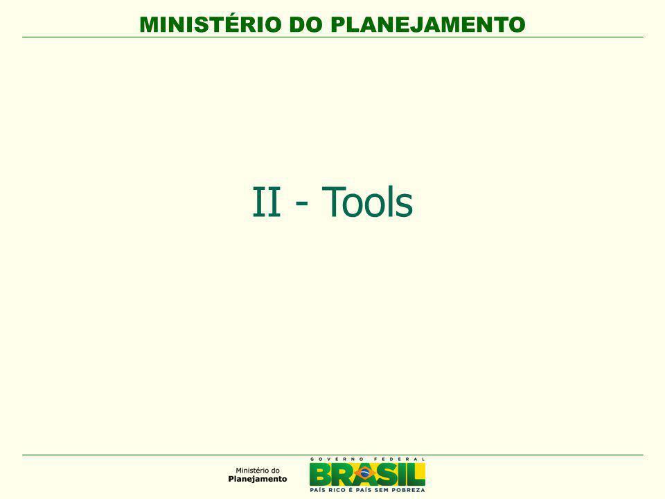 MINISTÉRIO DO PLANEJAMENTO 1. Legislation