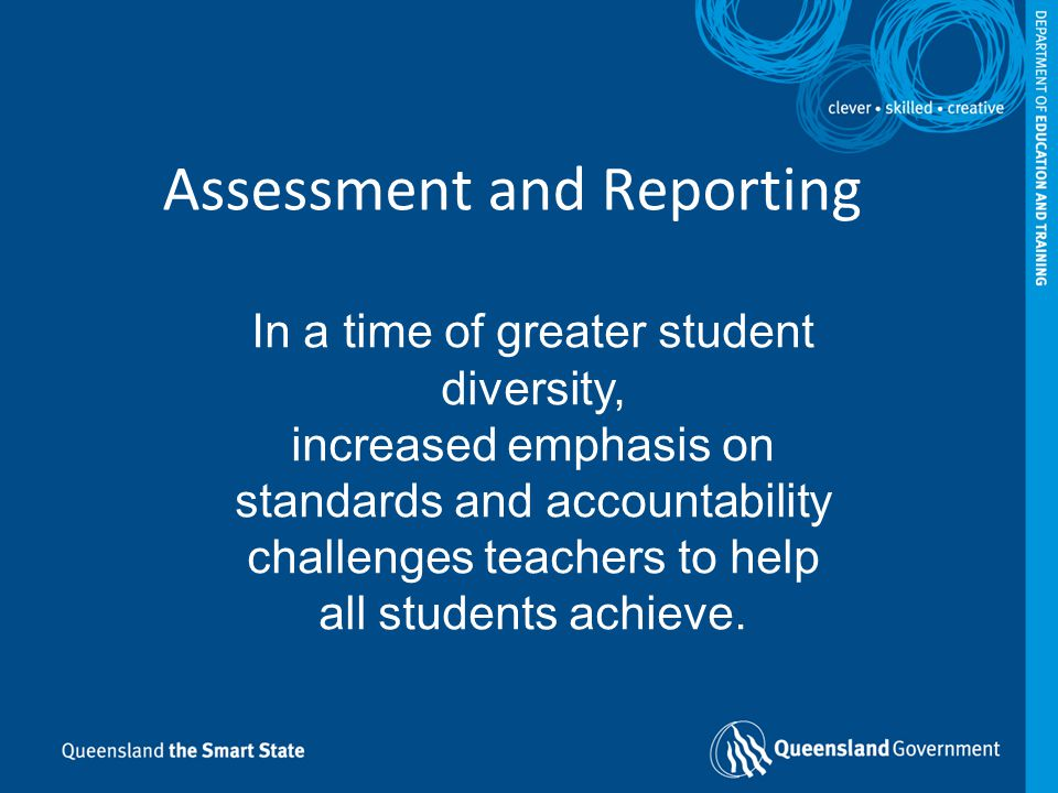 What do we need to know about assessment.