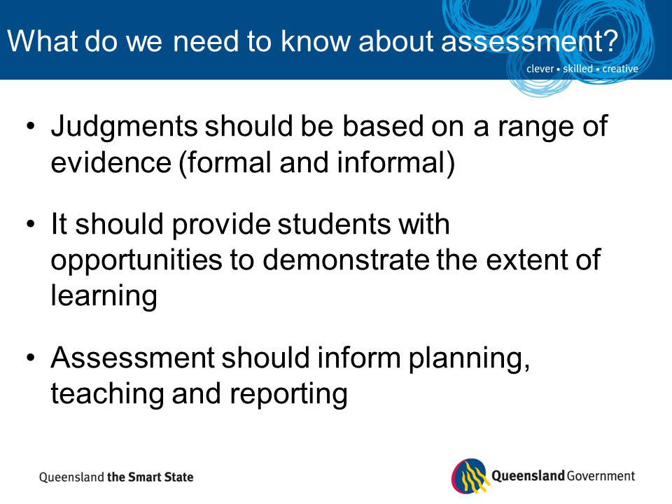 What are the principles of authentic assessment.