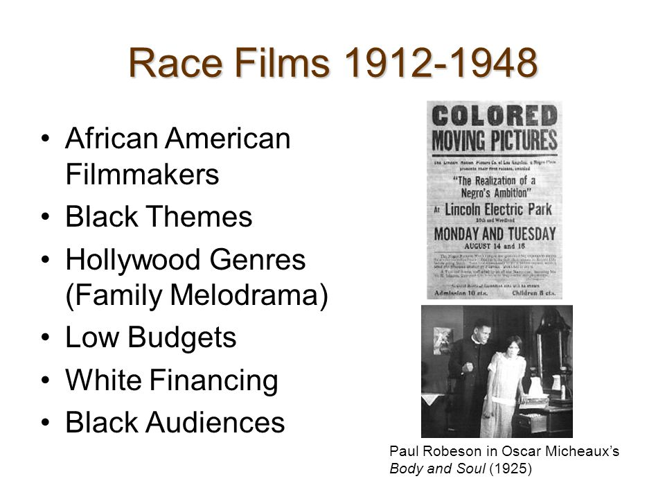 Late 1940s-60s: The Civil Rights Years Blacks Role in World War II Hollywood Makes Films About African Americans: -Pinky (1949) – Passing -Home of the Brave (1949)-- Racism in Military -Guess Who's Coming to Dinner (1967)– Interracial Marriage