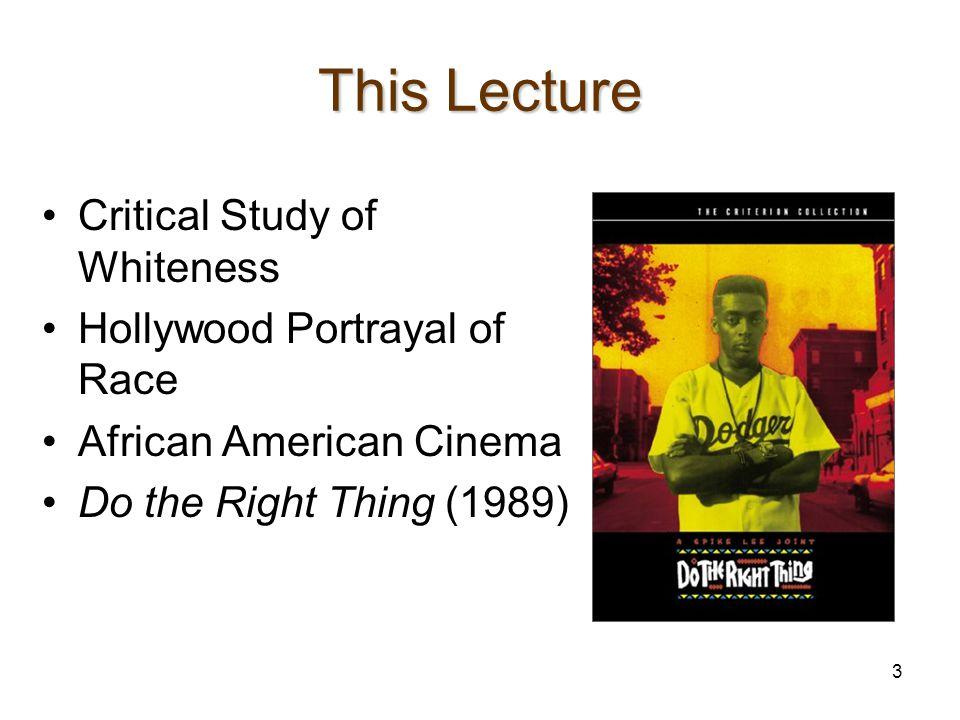 Part I: Critical Study of Whiteness