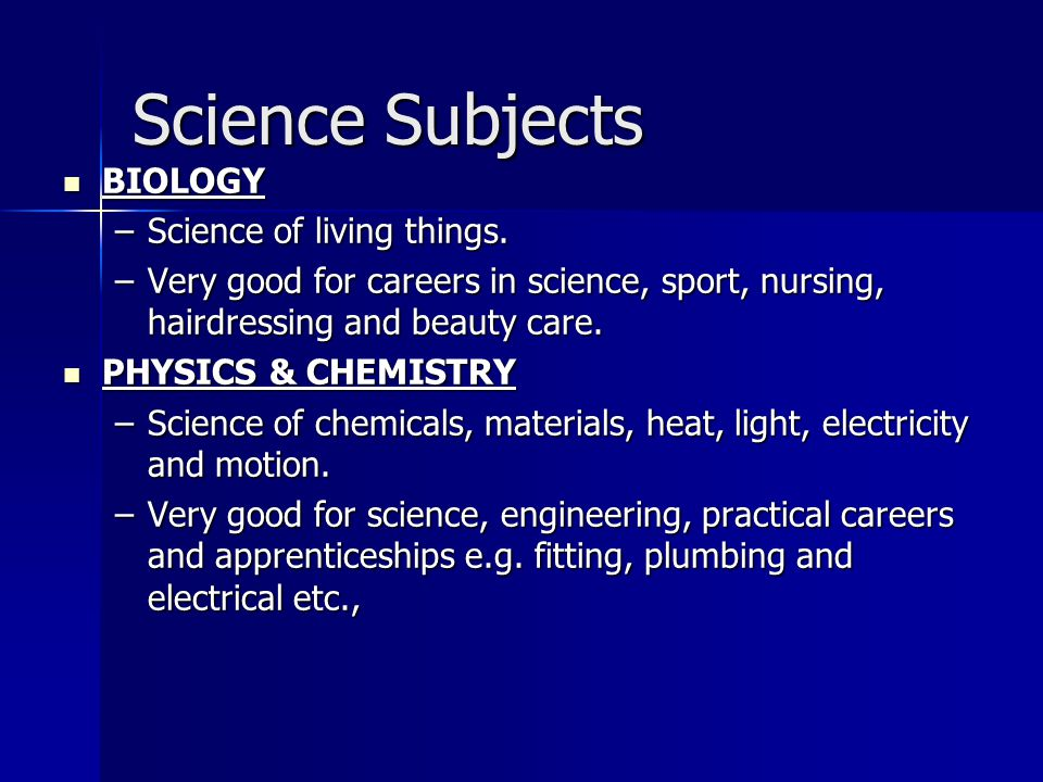 Technology Subjects CONSTRUCTION CONSTRUCTION –Follows on from Materials Technology wood.